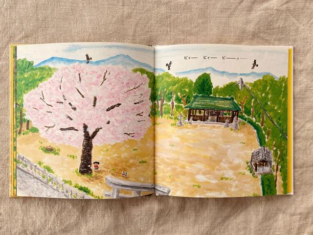 画像: 神社の境内って、だいたい大きな桜の木が植わっていますよね