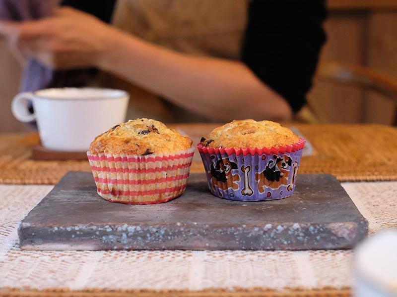 画像2: はなのお菓子|バナナカップケーキ