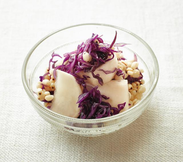 画像: はと麦のサラダのつくり方