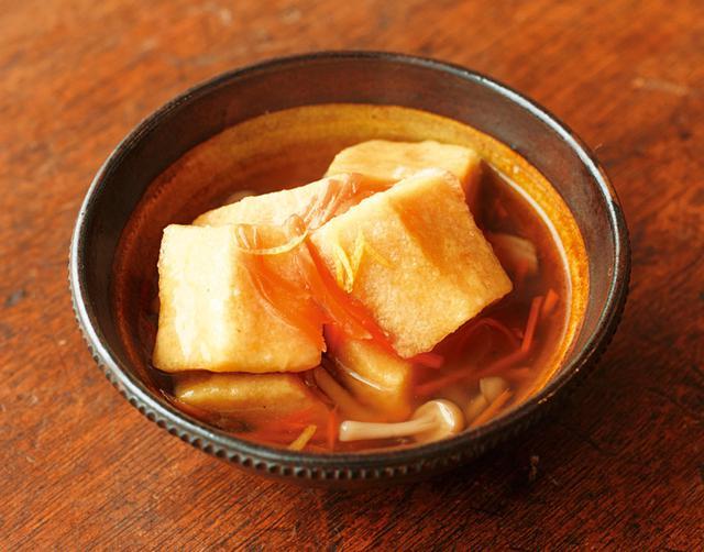 画像: 高野豆腐のあんかけのつくり方
