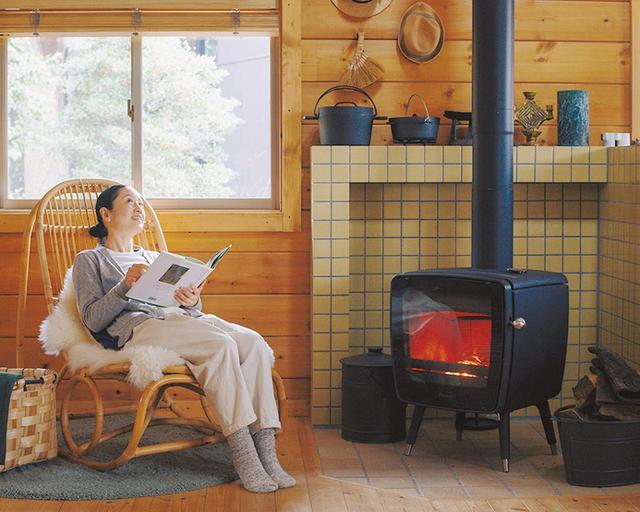 画像: 火のそばで過ごす贅沢な時間