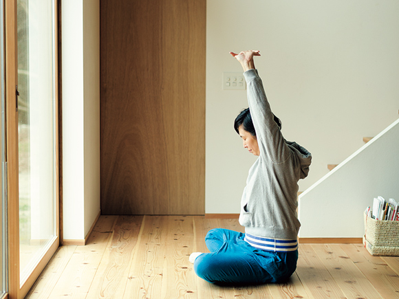 画像: 4:30 ストレッチとグラウンディング、瞑想