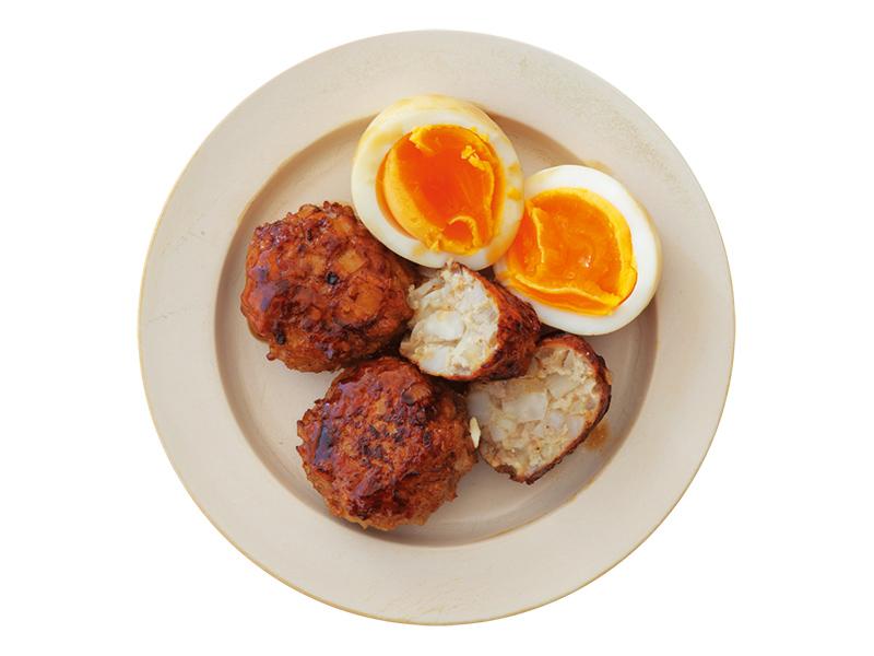 画像: アレンジ① れんこんのつくねと卵