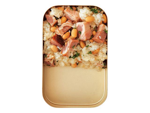 画像: 大豆と焼き豚の中華炒めごはん