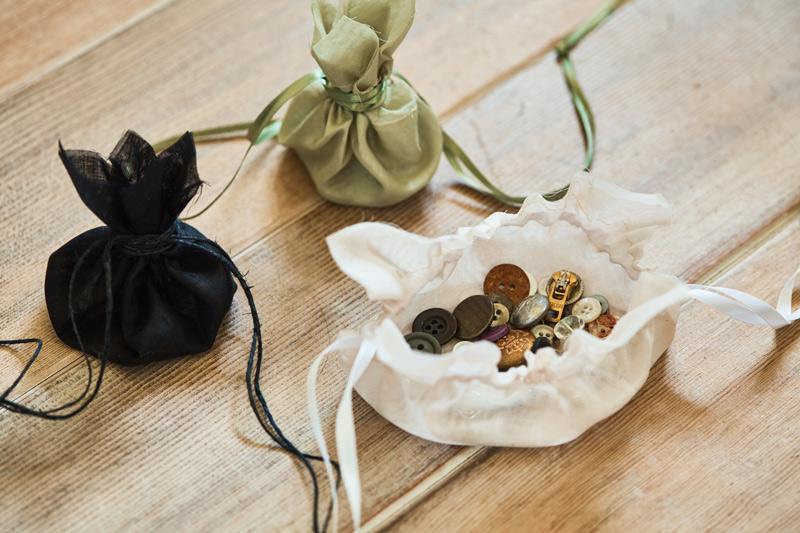 画像: How to make 開くと全貌がわかる「巾着」のつくり方