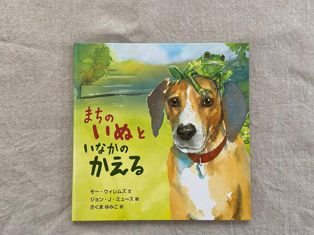 画像: 原題は『CITY DOG, COUNTRY FROG』。韻を踏んでいて、コンビの話なのだということが、よく伝わってきます。