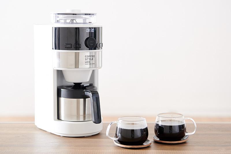 画像: 豆の挽き具合や抽出時の風味などが選択でき、好みや気分に合わせたコーヒーが楽しめる