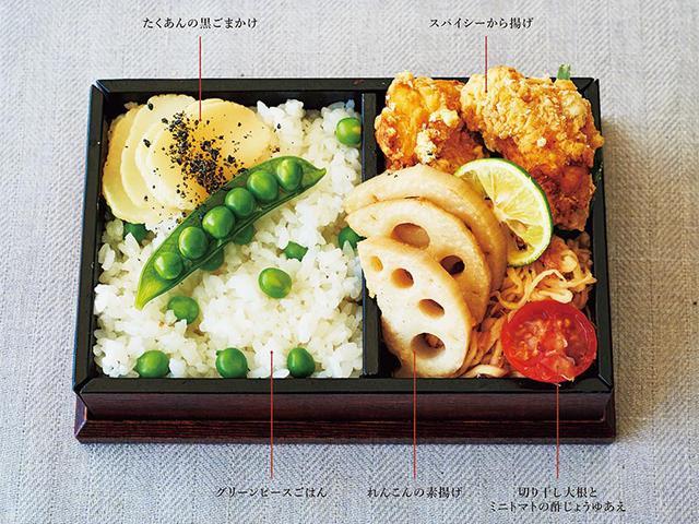 画像: から揚げ弁当のレシピ