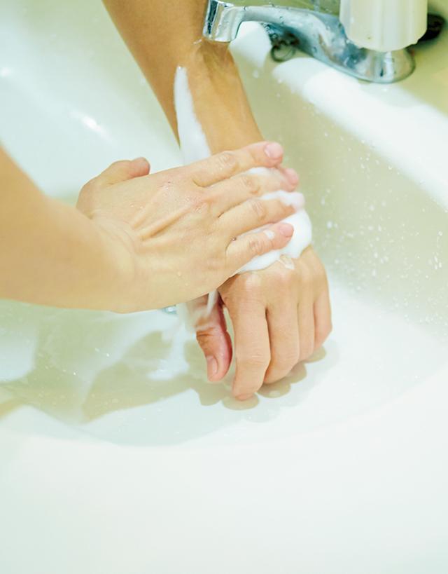 画像: 泡ぎれがよく、ぬるつかない