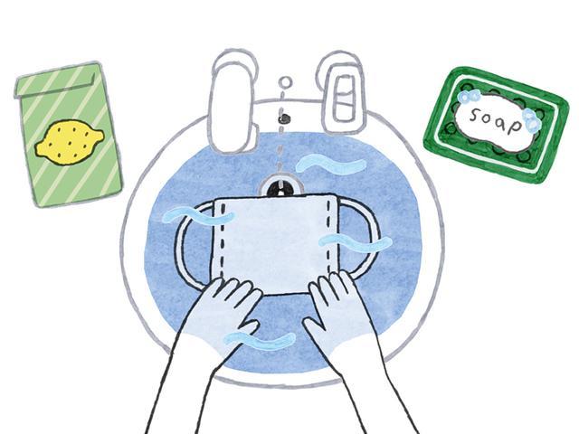 洗い 方 の マスク