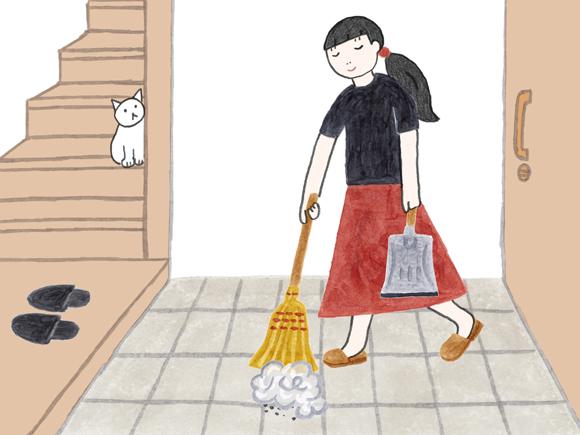 画像1: 消毒より前に、まず掃除を