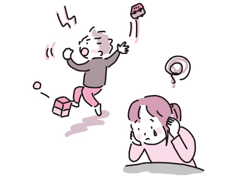 画像: 怒りっぽい、集中力のない子にまいってしまうことも……
