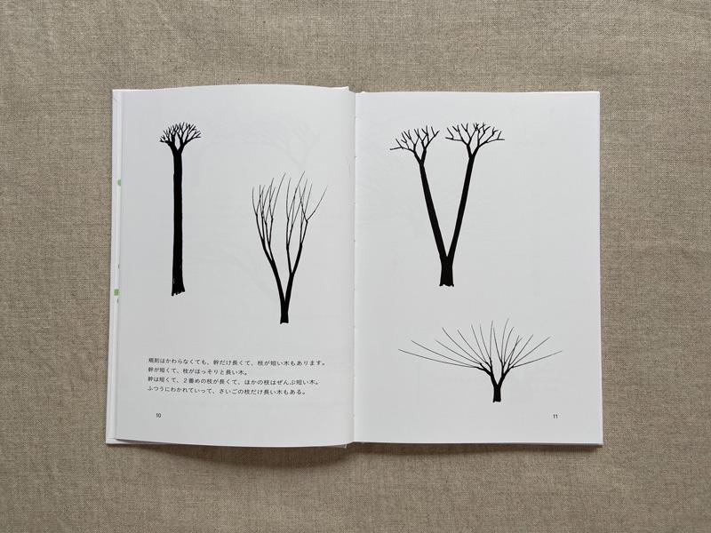 画像: 枝の太さや別れる位置はいろいろあっても、ルールは同じ。