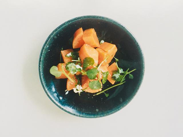 画像: ◇タネツケバナの人参サラダのつくり方