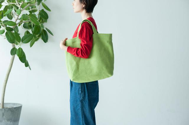 画像: 使うシーンに合わせてつくる、自分スタイルのトートバッグ デザイナー・かわいきみ子さん