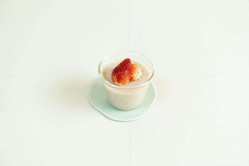 画像: 甘酒豆乳いちごプリンのつくり方