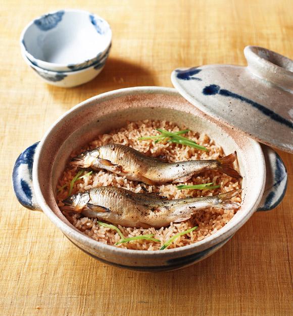 画像: 「鮎のこしょう飯」のつくり方