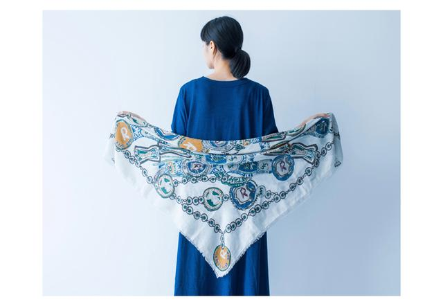 画像2: ◆肌寒さを感じたときの三角羽織り