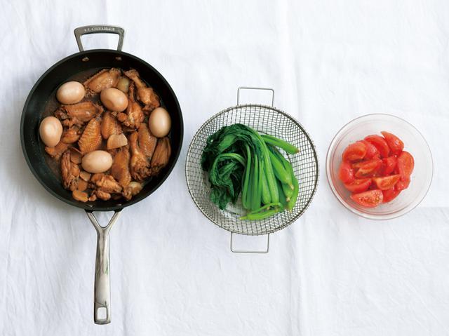 画像: ※この写真は4人分の材料です ※朝「作り置き」した料理は冷蔵保存をして、その日のうちに食べ切ってください。