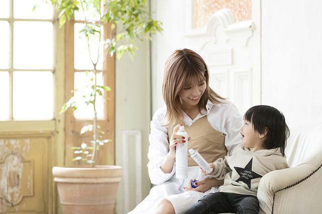 画像: 「SU lucille ミストウォーター」は、アルコール・パラベンフリー。子どもと一緒に安心してスキンケアできる