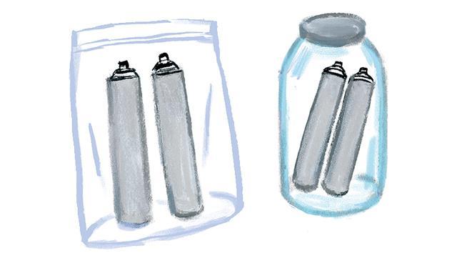 画像: Q 使用済み浄水カートリッジの保管方法は?