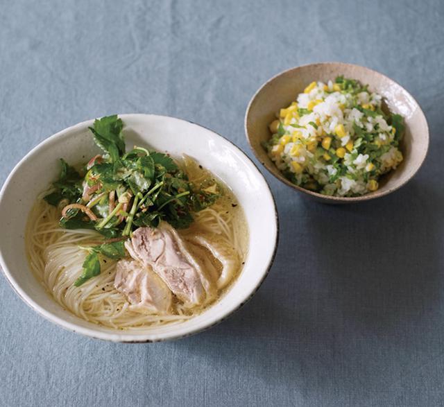 画像: コウ静子さん 心のバランスを整える料理
