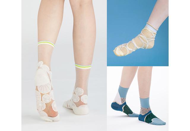 画像: E +10・テンモア おすすめの靴下3足セット 3名