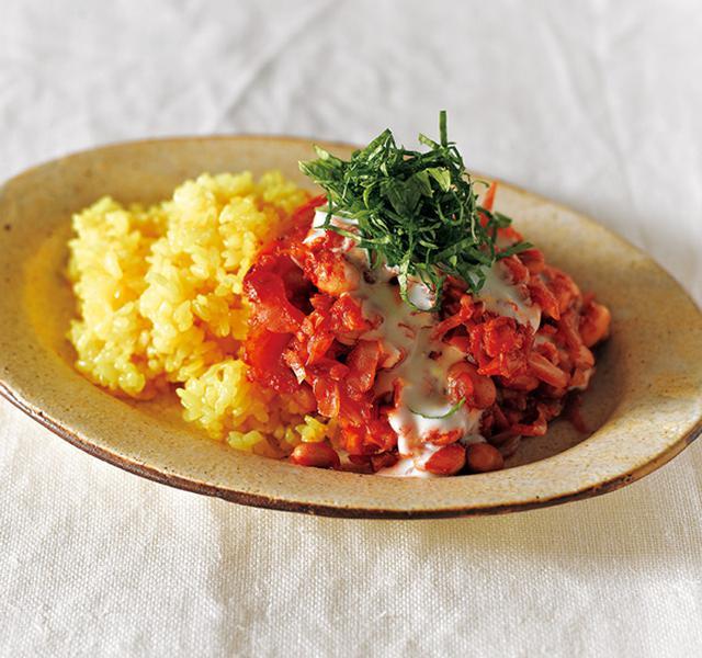 画像: キャベツとセロリと大豆のトマトカレーのつくり方