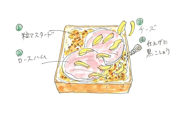 画像: シンプルチーズトーストのつくり方
