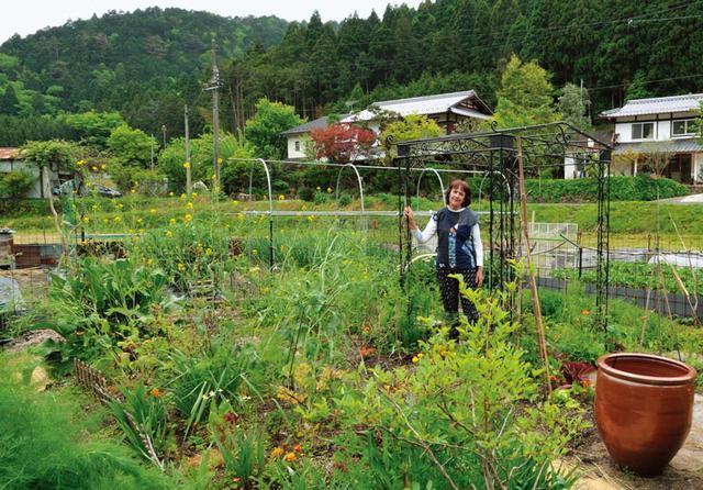 画像: ベジタブルガーデンではトマトやきゅうり、レタス、ベリーのほか、有機肥料のもととなるコンフリーなども栽培。家族の食卓に足りない野菜は知人の有機農家さんから購入