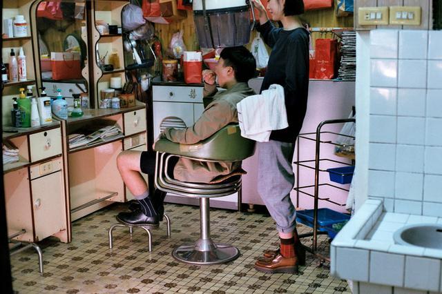 画像4: レトロな理髮店「阿郎師的店」