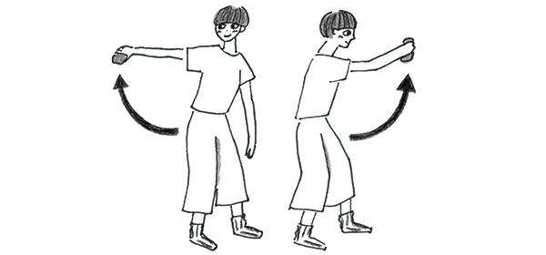画像2: 〈肩の修正〉