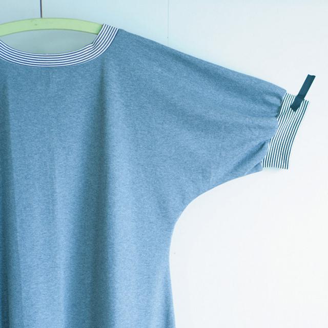 画像: 縫うところが少ないドルマンスリーブだから、縫いはじめたら、あっという間に完成。袖が長めでも、ゆったりと涼しく着られる