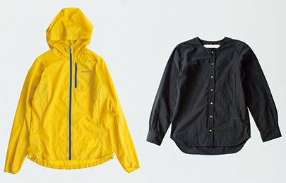 画像: ジャケット 14,580円/パタゴニアⓄ。ブラウス 12,960円/ヴァジー ラントマンⓇ