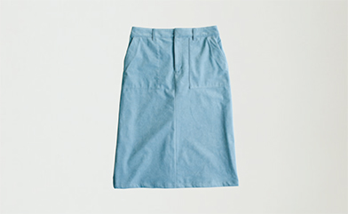 画像: スカート 16,200円/マリン フランセーズⓌ