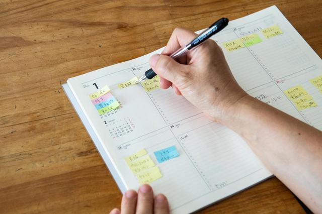 画像: 日々のタスクに「追われない」「重荷にならない」 私の手帳術と付せん活用法|モノとコトの整理術/金子由紀子