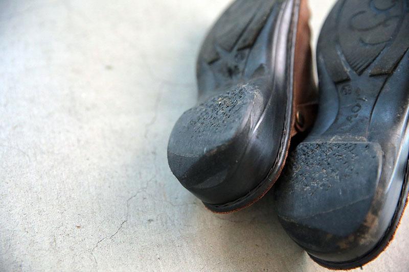 画像: NAOTの靴は、すり減ったソールを修理したりして、長く履くことができる