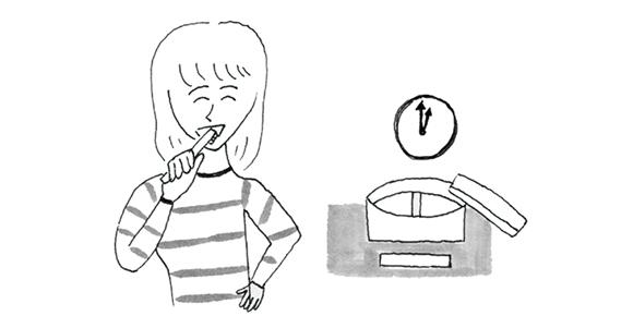 画像: 昼も歯みがきする習慣を