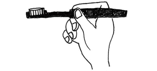 画像1: 歯ブラシを使う際のポイント