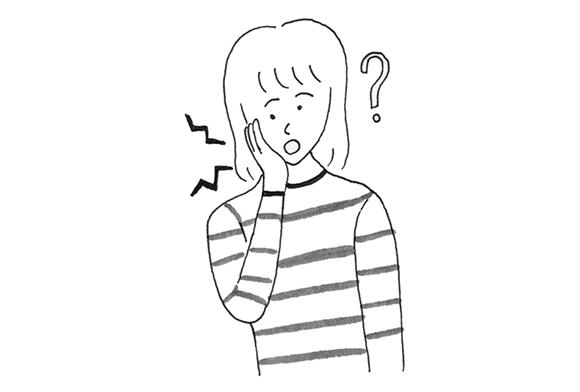 画像: あごが外れる・あごが痛いとき