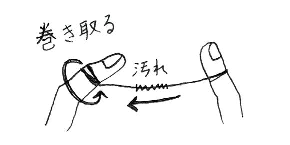画像4: フロスで歯と歯の間をみがく