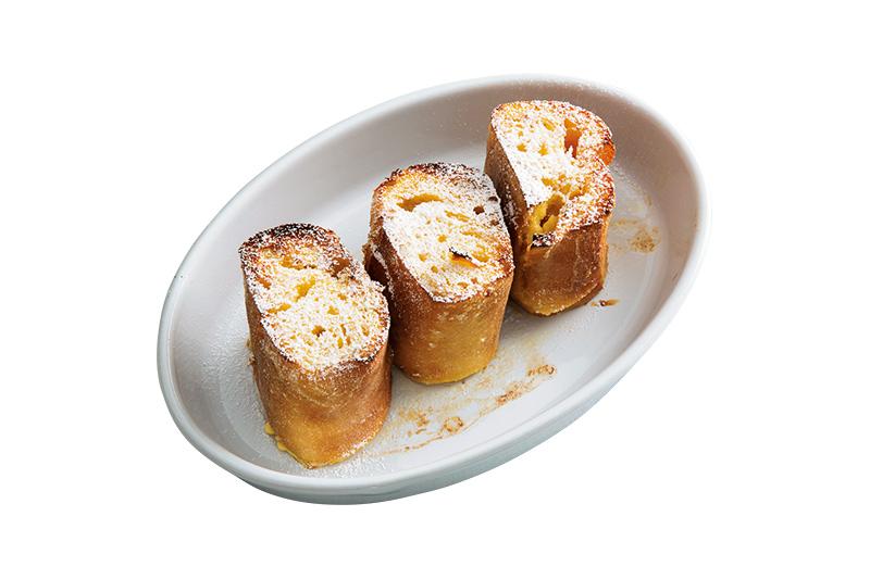 画像: ひと晩じっくりと、クリームチーズ入りの卵液を染み込ませて。ちょっと面倒?いえいえ、それを補って余りある美味!