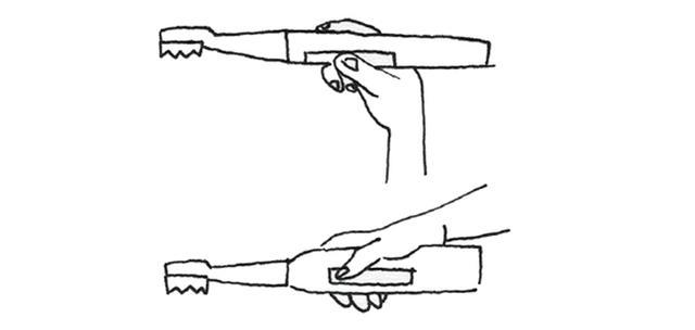 画像1: 電動歯ブラシを使う際のポイント