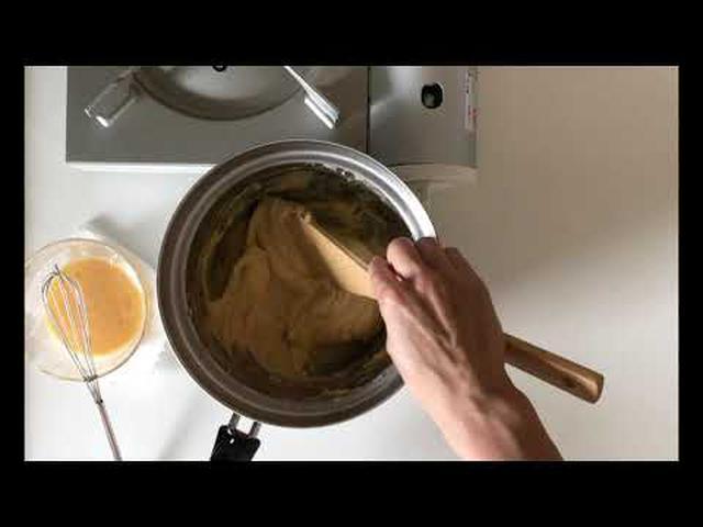 画像: はなのお菓子 シュークリーム ~シュークリームの皮をつくる 天然生活web www.youtube.com