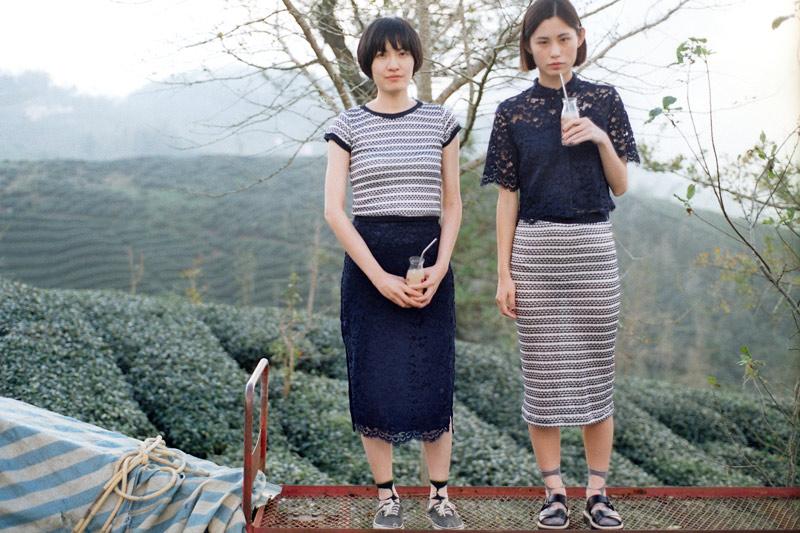 画像2: お茶のCM撮影のロケ地にもなった竹山の「八卦茶園(はっけちゃえん)」