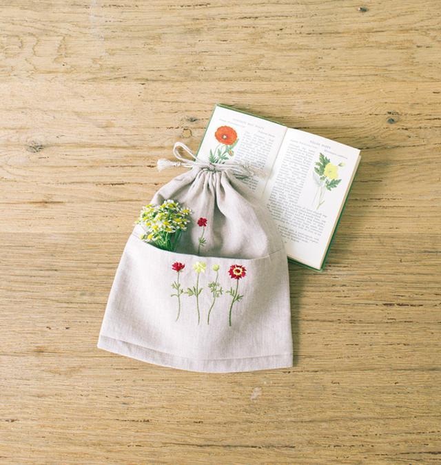 画像1: かわいきみ子さん 直線縫いでできるエコバッグとマスクケース