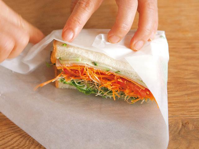 画像: サンドイッチは、パンと野菜の両方が生き生きと美味しく味わえること