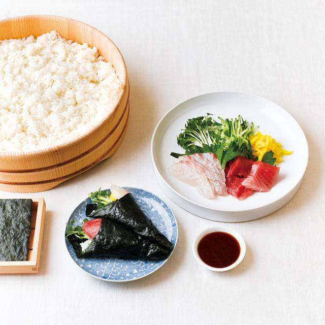 画像: 王道手巻き寿司のつくり方