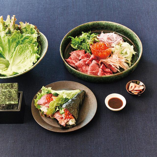 画像: ぜいたく手巻き寿司のつくり方
