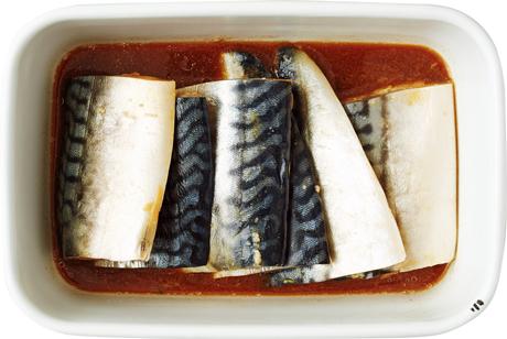 画像: C さばの黒酢しょうゆ漬け